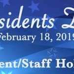 Image for the Tweet beginning: 🇺🇸 Presidents Day, Monday, February
