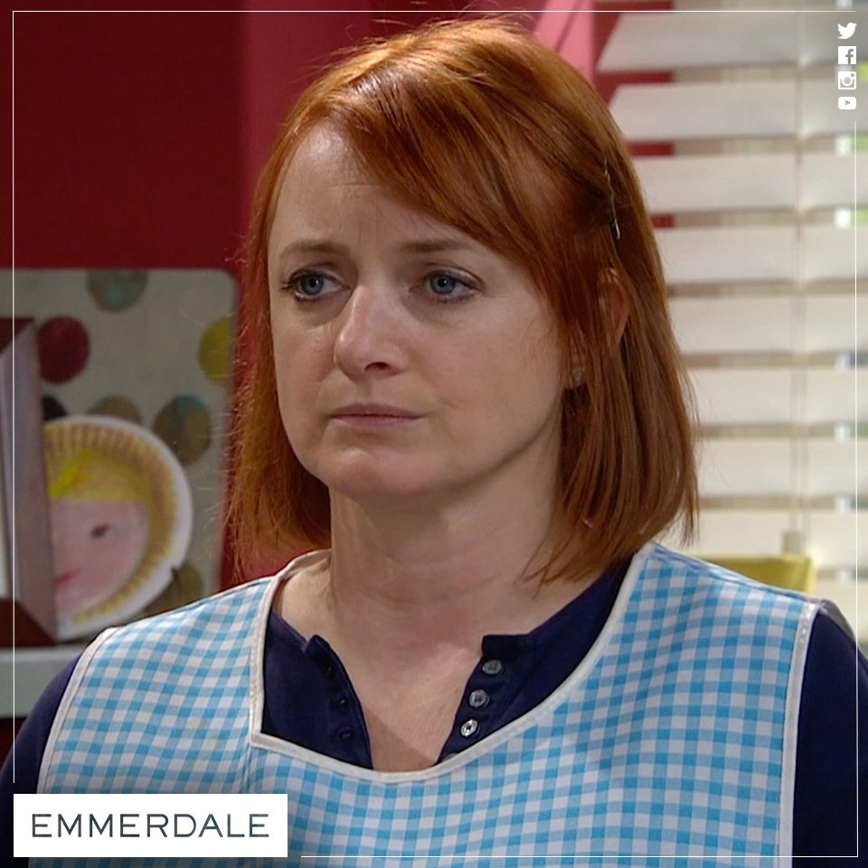 It's hard for Nicola to come clean about being Graham's cleaner! #Emmerdale