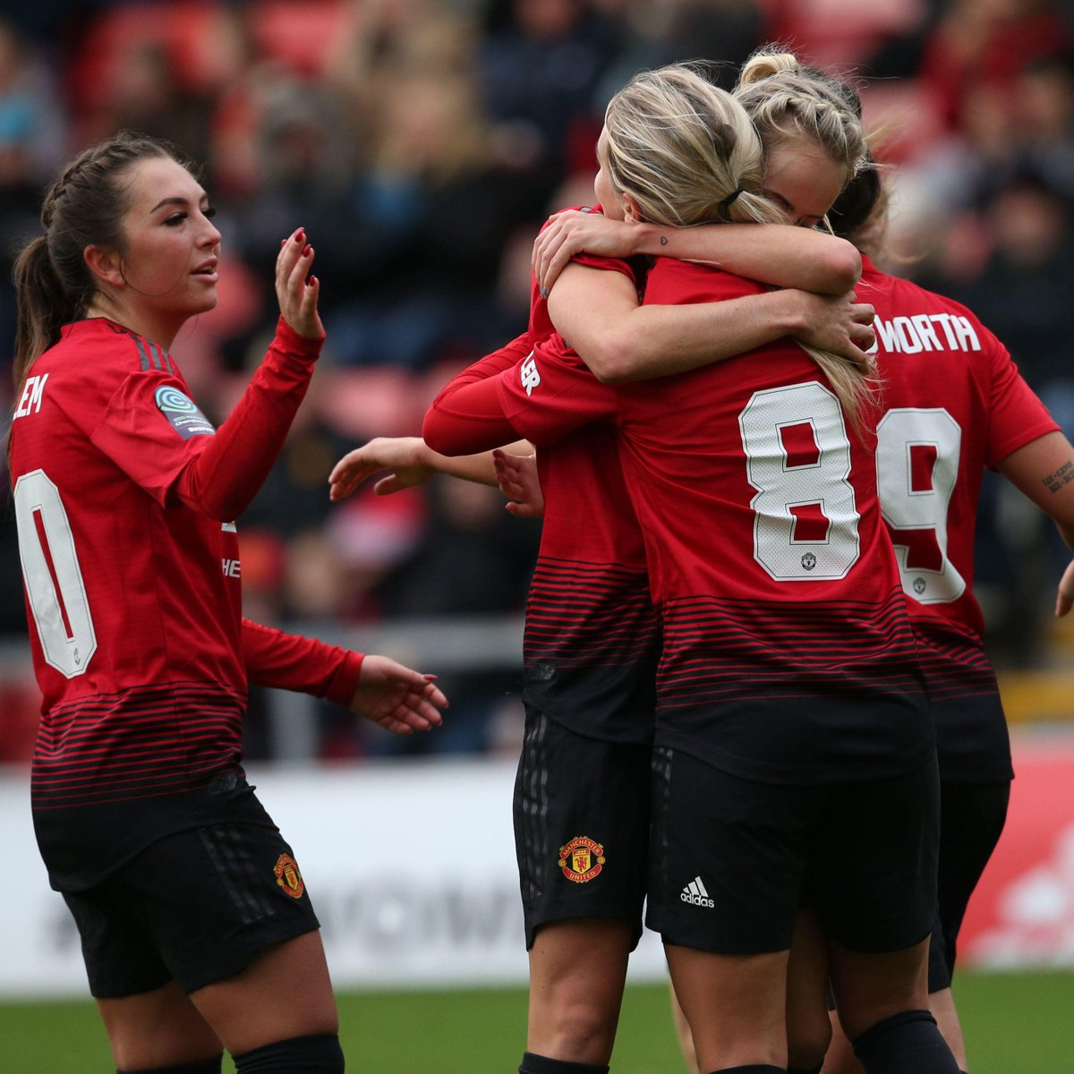 Have a good weekend, #MUWomen fans — we hope to see you on Sunday! 🔴 #FridayFeeling