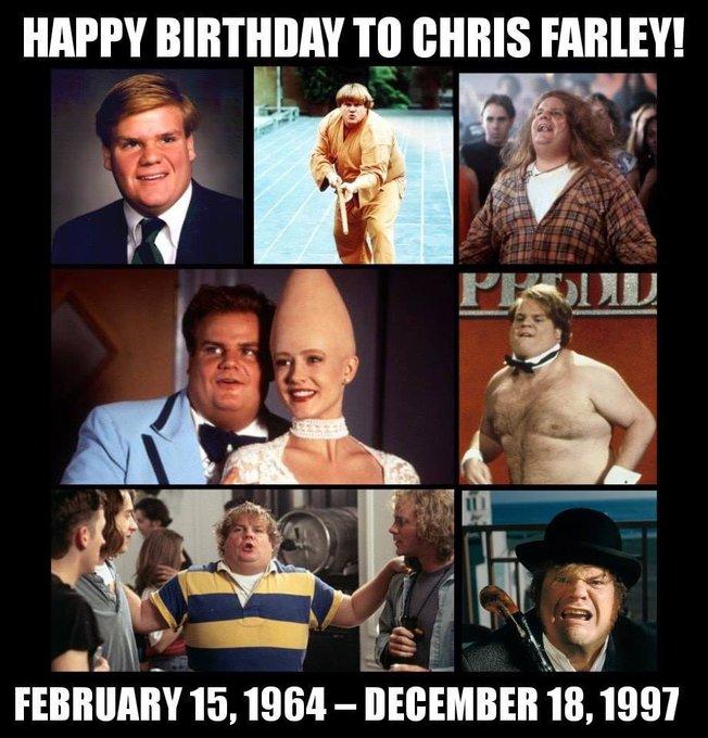 Happy Birthday Chris Farley RIP