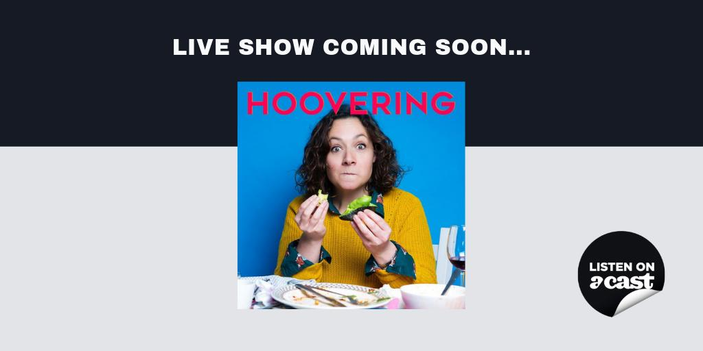 We've sorted your afternoon plans in London for Sunday 3rd March: the brilliant @TheHooveringPod is coming LIVE from @VAULTFestival and you can get your tickets now. Yum! https://vaultfestival.com/whats-on/the-hoovering-podcast/…