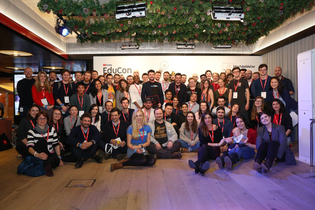 EduTubers came together at the latest #YouTubeEduCon to share experiences, knowledge and inspiration this week in London. Check out our Instagram Story for a recap. #YouTubeLearning  →  https://t.co/3A37lntIUs