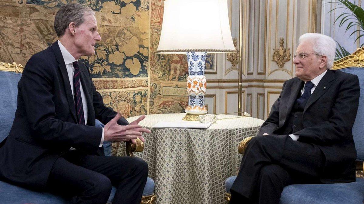 Mattarella riceve ambasciatore Francia, Macron lo invita a Parigi #EmmanuelMacron https://t.co/cKm9kJSbEE
