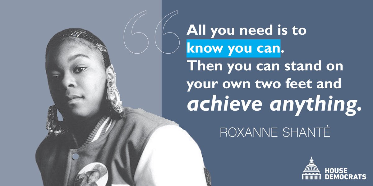 Roxanne Shante paved the way for women in hip-hop and inspired women across the country to recognize their power and reach their goals. #BlackHistoryMonth