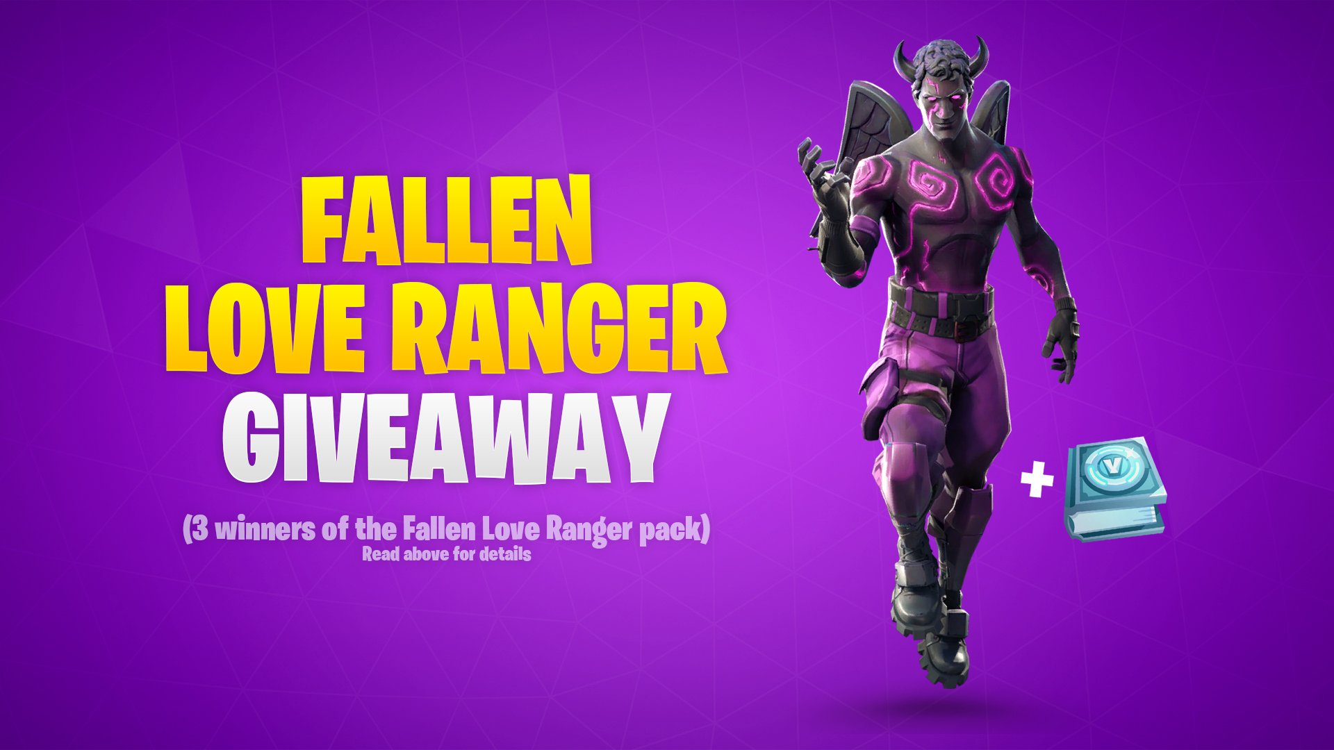 Fortnite News On Twitter Let S Give Away Some Of The New Fallen Love Ranger Packs To Enter Follow Bnwkr Follow Fortnitebr Retweet This Tweet 3 Winners Will Be Drawn