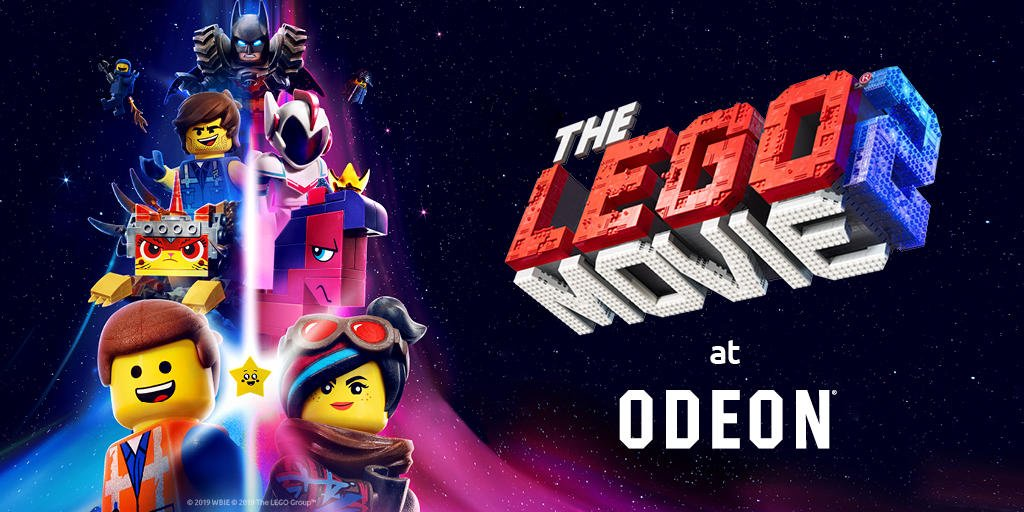 #GIVEAWAY! Fancy winning 4 x ODEON intu Metrocentre tickets to watch The Lego Movie 2? Follow @intuMetrocentre and retweet to enter! T&Cs apply: http://fal.cn/iyCT
