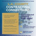 Image for the Tweet beginning: Our first Contracting Connections event