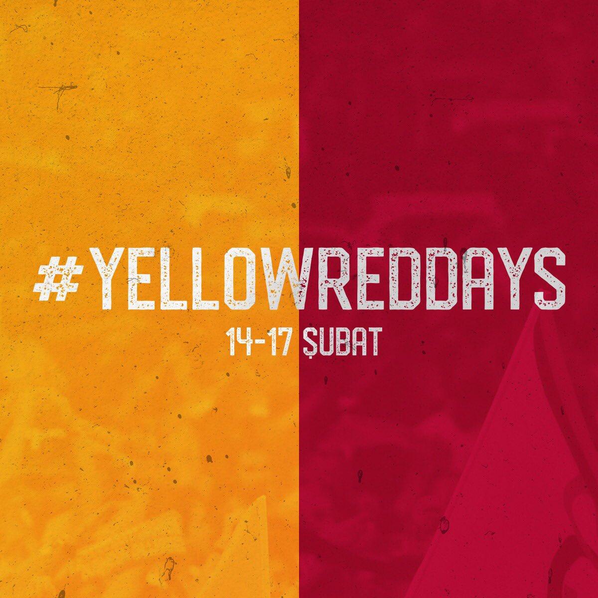 #YellowRedDays devam ediyor. 💛❤️