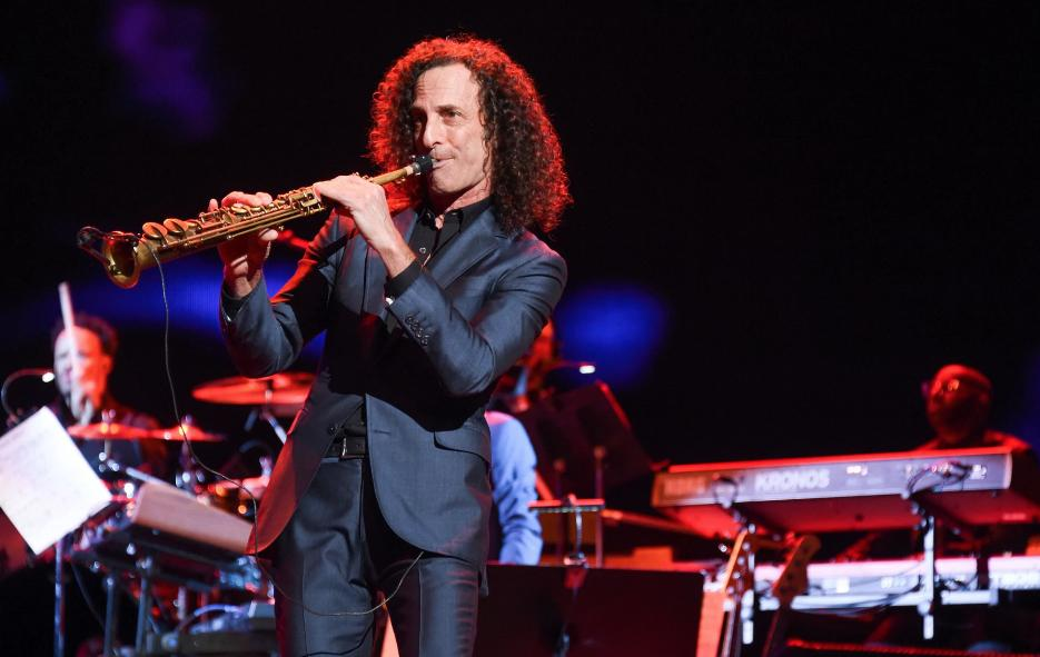 Kenny G explains his sweet Valentine's Day sax serenade for Kim and Kanye https://rol.st/2DS2j2j