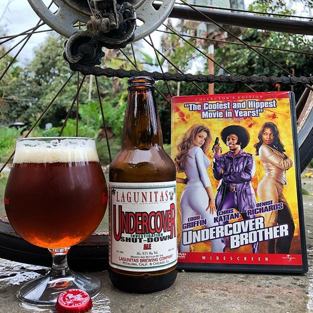Seems like a good night for a few beers and a movie! Undercover investigation Shut-down Ale 9.7%ABV from @lagunitasbeer big and malty - - - - - #undercoverbrother #undercover #investigation #shutdown #Ale #goodbeer #beersies #cheers #happyfriday #🍻#b… http://bit.ly/2Ie4uT2