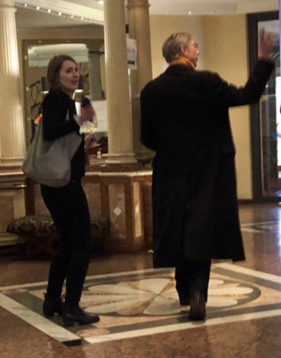 Brian Hook of State spotted at a Munich hotel this evening heading into an elevator.  Hook and others are in town for the Munich security conference.