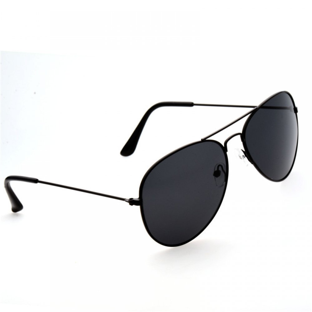 #fun #outside Men's Aviator Sunglasses with Metal Frame