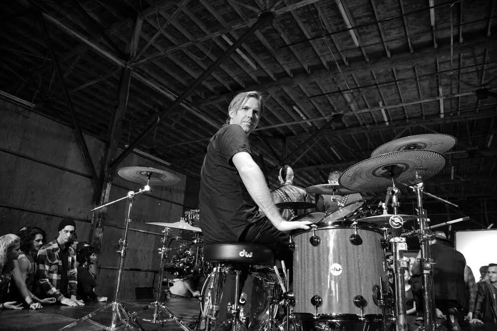 You have always been the youngest member in all of your bands. Not anymore! Happy Birthday Old Man Wackerman!