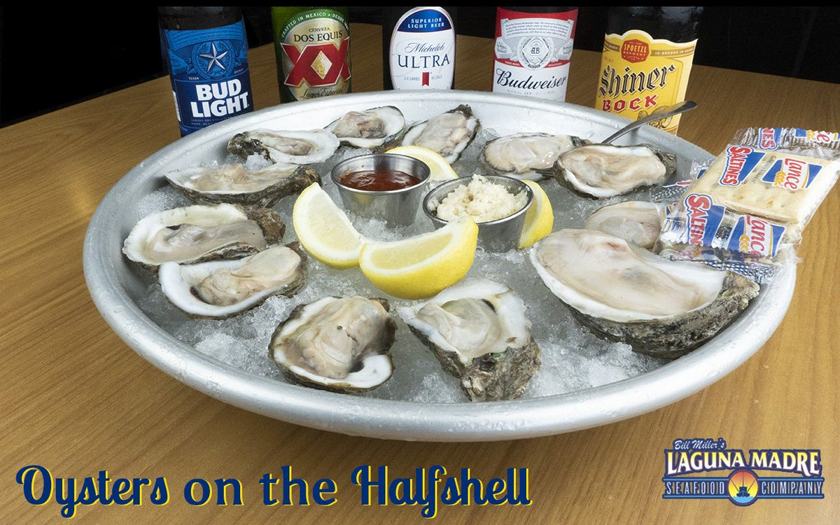 Long weekends call for a dozen of fresh oysters to gather around. #SeaFood #Oysters #LagunaMadre #Foodie #Weekend   Select locations carrying beer & wine:  10614 Westover Hills San Antonio, Texas 78251 18195 U.S. 281 San Antonio, TX 78258 25127 IH 10 W San Antonio, TX 78257