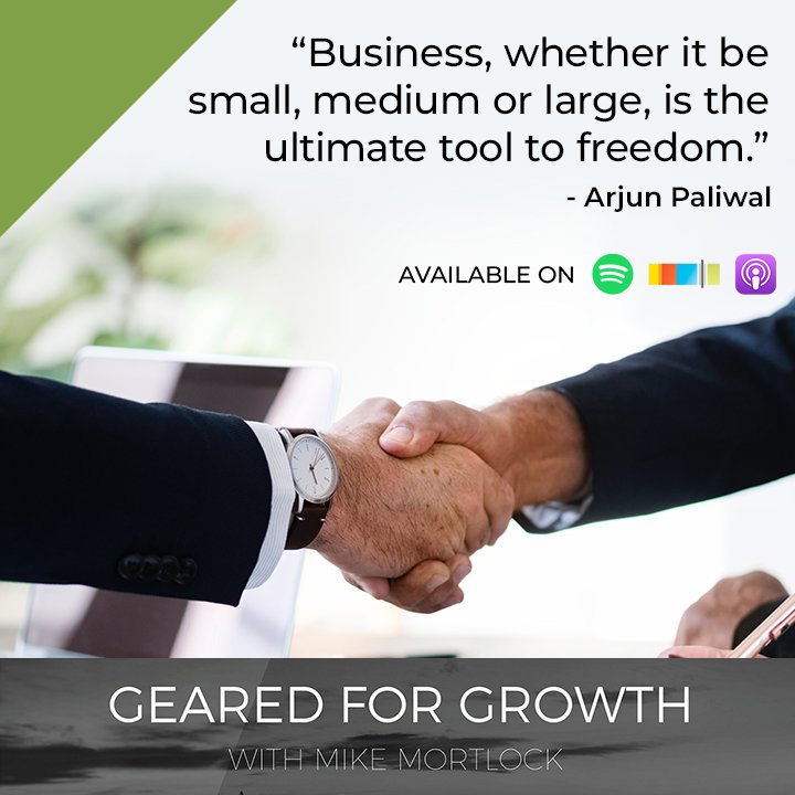 """Business, whether it be small, medium or large, is the ultimate tool to freedom.""  @Arjpaliwal 📲🎧🎙  #Property #Investment #Growth #Portfolio #Australian #Market #Sydney #Melbourne #Brisbane #Deposit #HomeOwner"