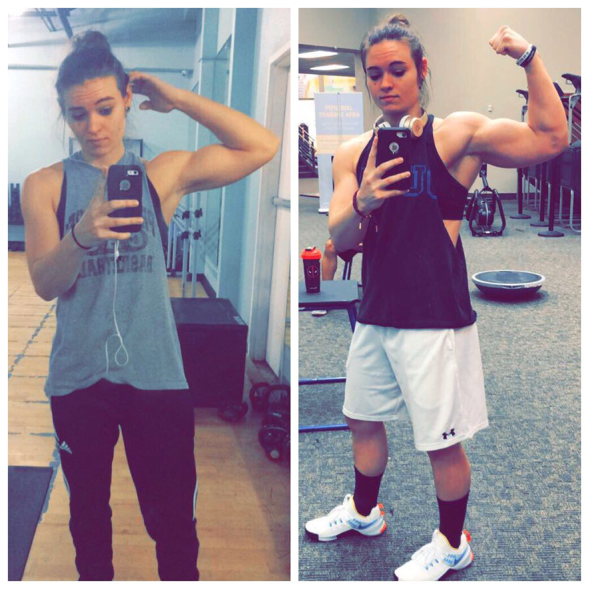 good things might come to those who wait, but they'll come quicker to those who work their ass off #FlexFriday #girlswholift #TrustTheProcess