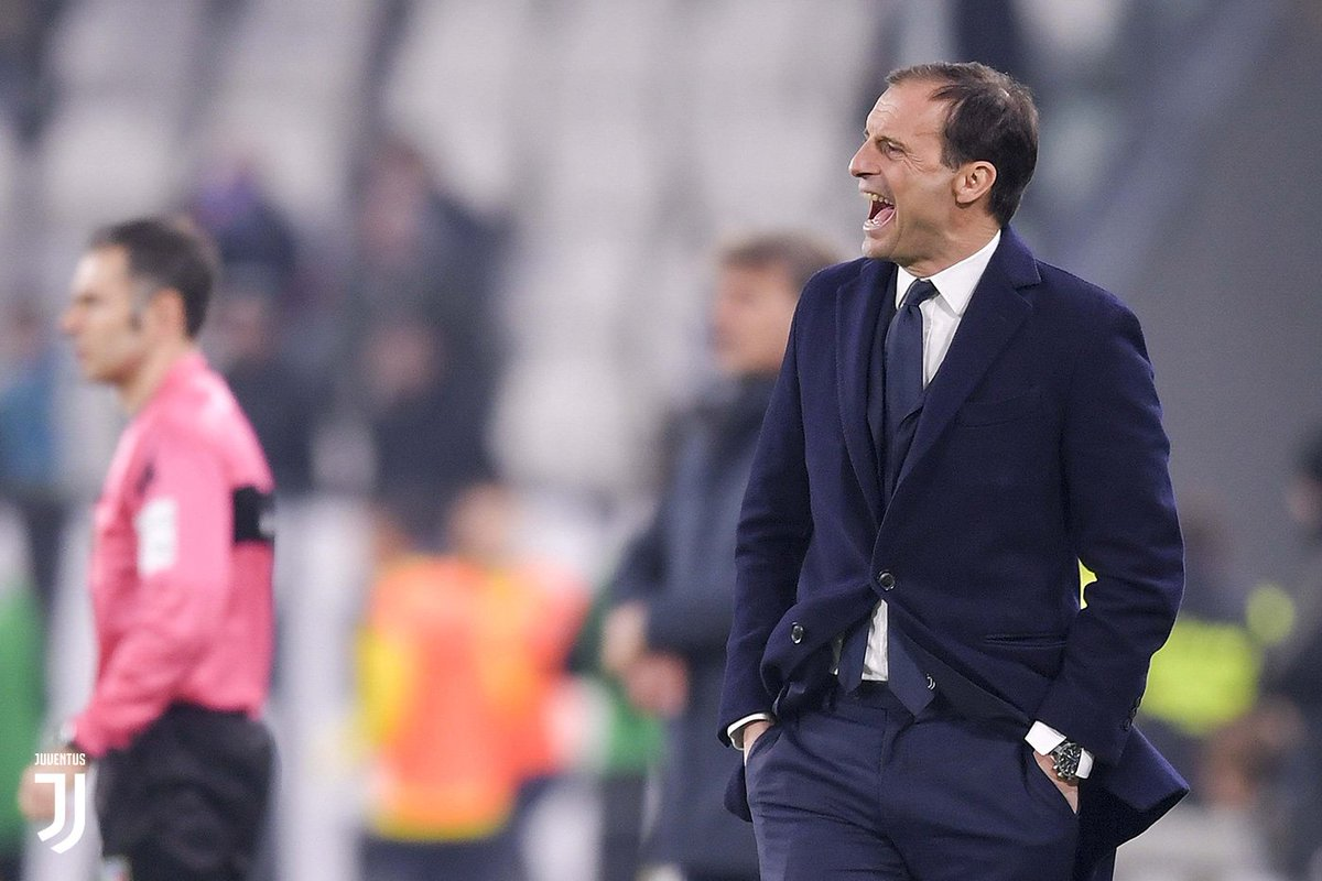 "🗣 @OfficialAllegri: ""We are in good condition.""  ➡️ https://t.co/S7YWx25Flj   #JuveFrosinone #ForzaJuve"