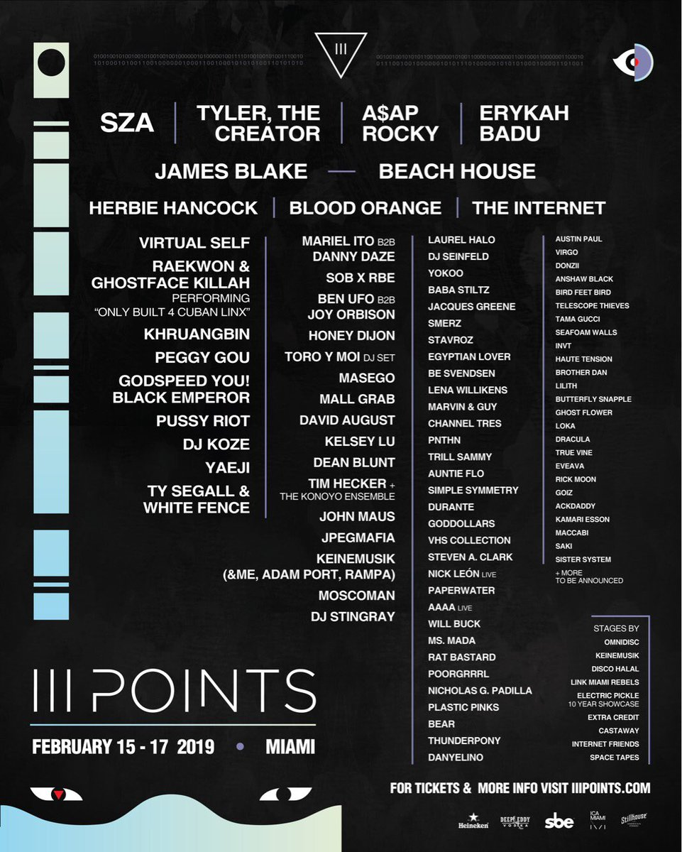 If you're not at this year's @iiiPoints Festival in Miami, we've got you covered with live updates on our Instagram story all weekend ⚡ Follow along here:  https://t.co/kNeY19YRiG