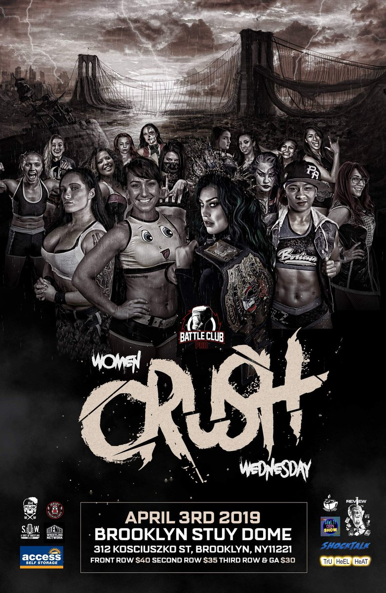 🚨🔥BREAKING🔥🚨 IT'S SHOWTIME! April 3rd! Brooklyn Stuy Dome, 312 Kosciuszko St Brooklyn NY 11221 #WCW #WomenCrushWednesday #ICONS3 New Place, New Faces #IndyWrestling #WomensWrestling #WeAreFamily #ProWrestling #NextLevel #FridayNight #FridayMotivation #Friyay #FridayThoughts