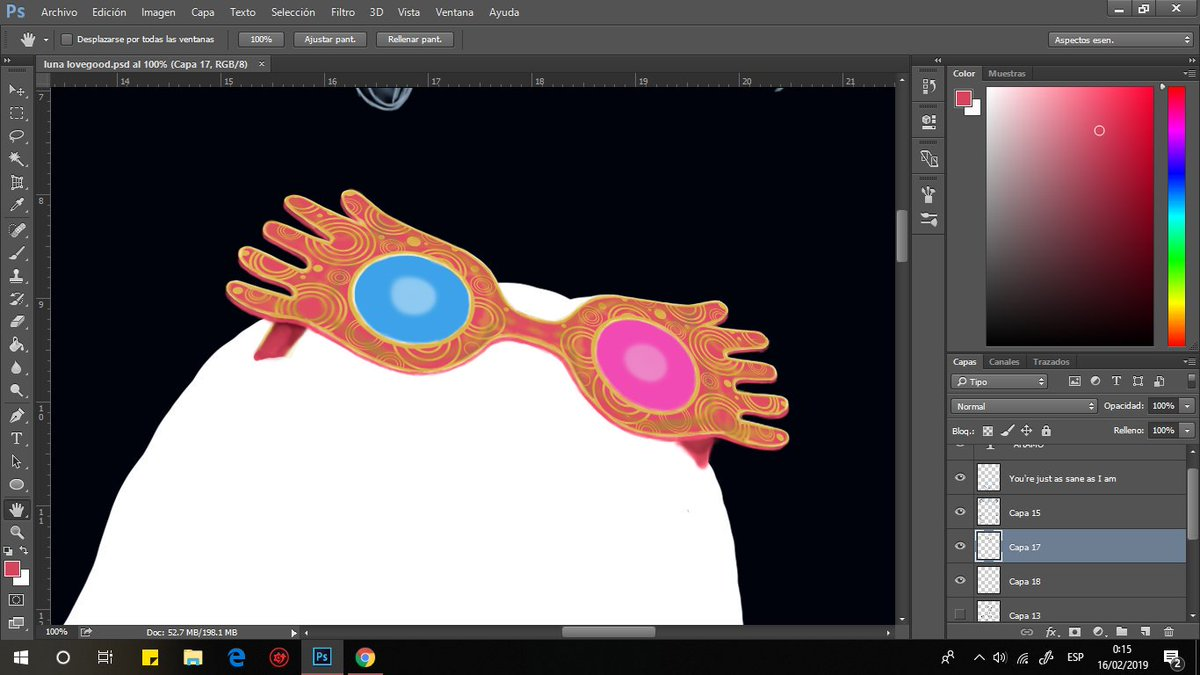#lunalovegood #luna #harrypotter #jkrowling #ravenclaw #patronus #glasses #pink #wrackspurts #digitalart #photoshop #portrait #fanart #movie #wacom #wacomart #illustration #digitalpainting #illustration_daily #sketch #picoftheday #artoftheday #art #artist #artamo #inprogress