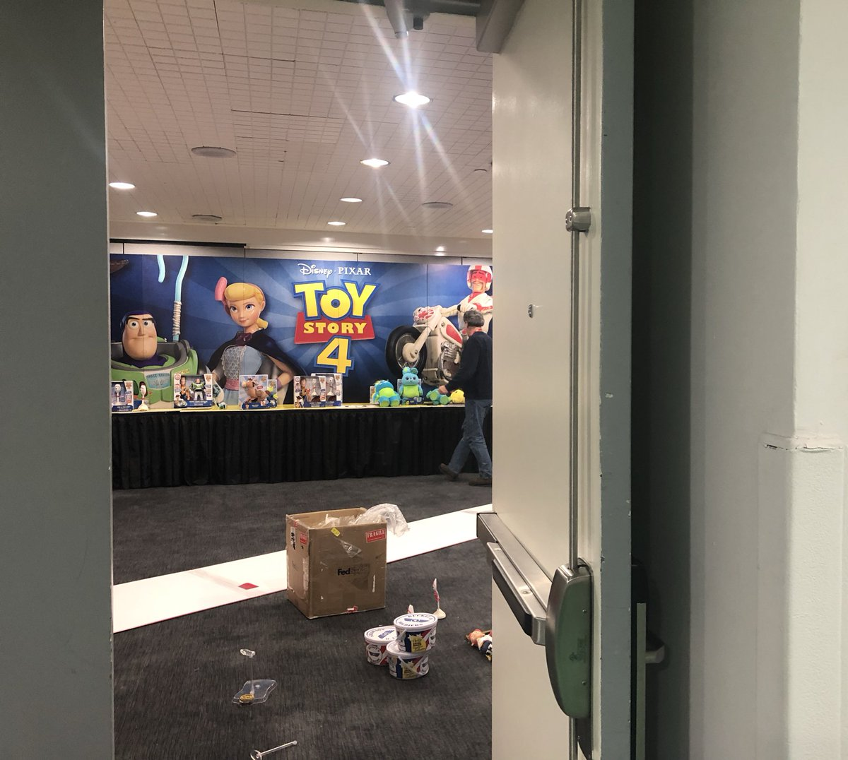 Signature Collection Disney Toy Story 4 Duke Caboom Stunt Set Movie Replica