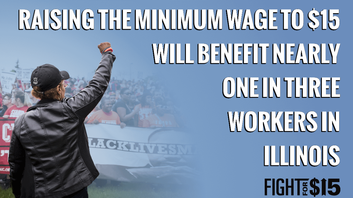 The Illinois State House is Just Passed the $15 minimum wage and sent the final bill to the Governor's desk. When signed, Illinois will become the 5th state to pass the $15 minimum wage.   Time for $15 nationwide. http://bit.ly/TimeFor15 #FightFor15