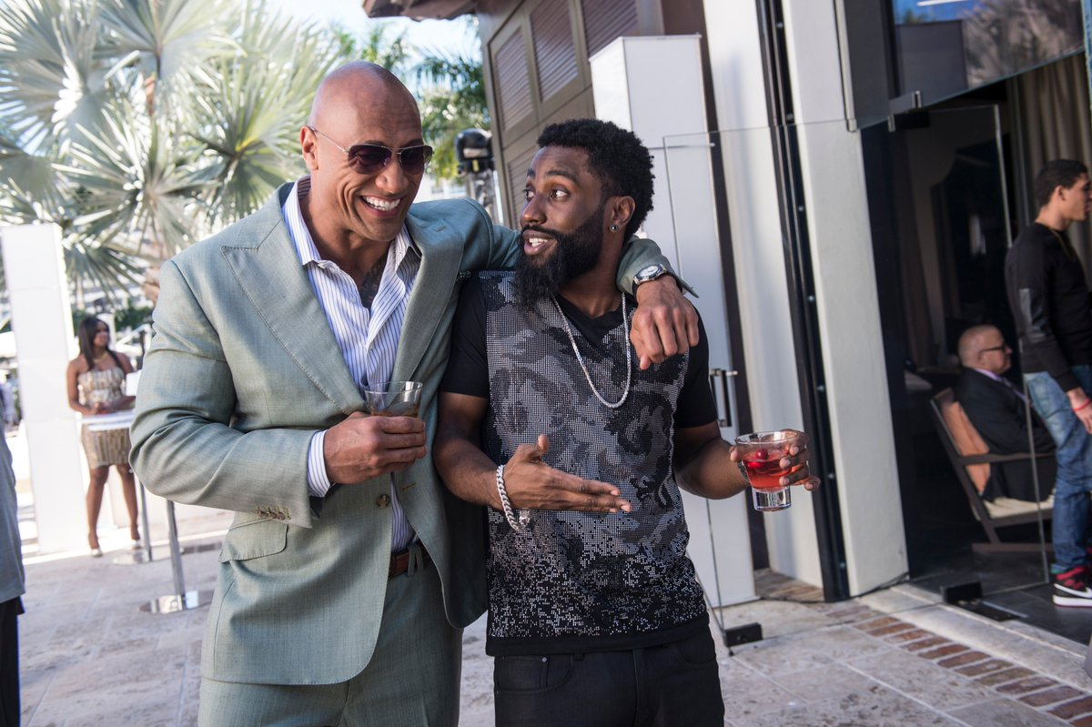 Let&#39;s hear it for @TheRock and John David Washington for their @naacpimageaward nominations for Outstanding Actor and Outstanding Supporting Actor! #Ballers<br>http://pic.twitter.com/T2gY2gKN6W