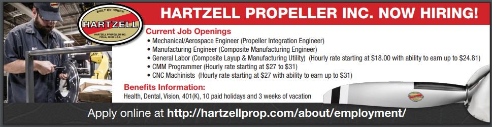 Hartzell Propeller Inc is hiring!  General Labor hourly rate is up to $24.81/hr. plus benefits that include health insurance, 401k, 10 paid holidays and 3 weeks vacation  Apply now by clicking the link http://ow.ly/ZQhm50kyz8a    #job #jobs #joblisting #generallabor #ohio #ohiojobs