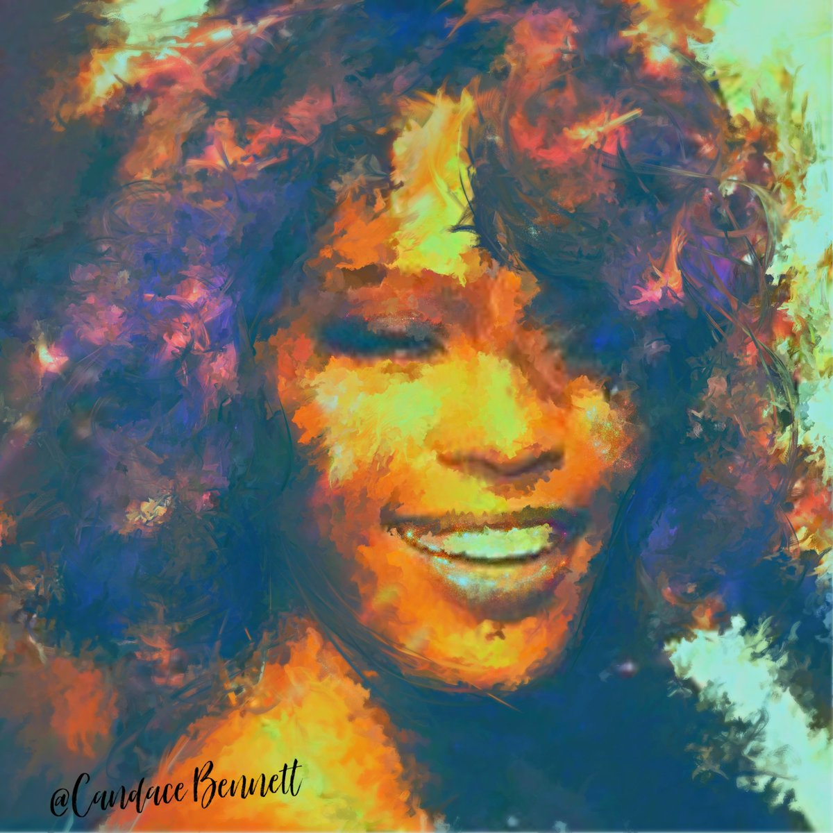 Candace Bennett's photo on #WhitneyHouston