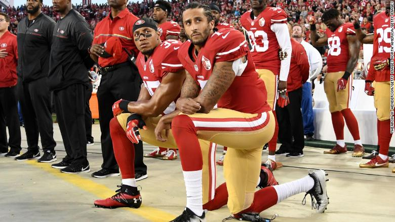 Colin Kaepernick and Eric Reid have resolved their grievance cases against the NFL https://t.co/gEKyOOdyfE https://t.co/sYq02tBJIA