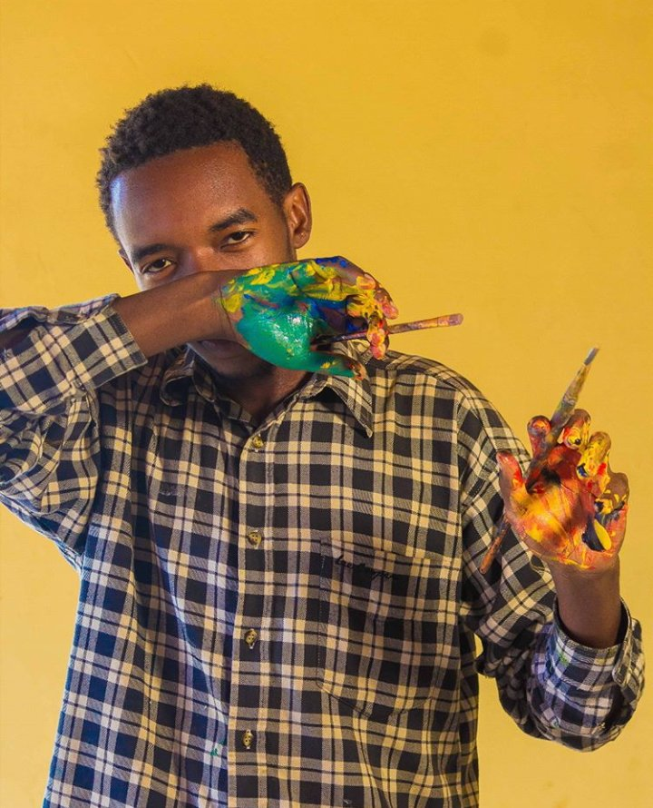 Remy Iradukunda @ArtsImfura Artist, will be Painting live at Imfura Arts For Peace #onespirit event on this 16 February, Saturday from 2 PM at Innovation Village Kacyiru, no entry fee @KigaliLibrary .@NARwanda @Omar_Ndizeye @RobCyubahiro @SwedeninRW @karangwaclau  @MTNRwanda