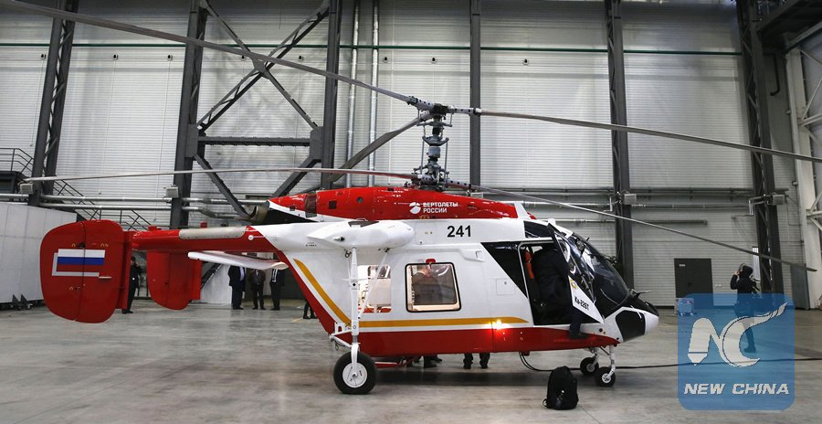 Moscow & NewDelhi expect to sign contract this year to produce Russian Ka-226T helicopters in India  https://t.co/penTNE7gEm