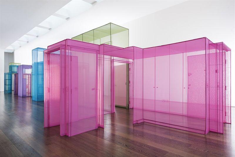Colorful Transparent Home Installations https://t.co/0eZTQp64vZ #ArtDesign
