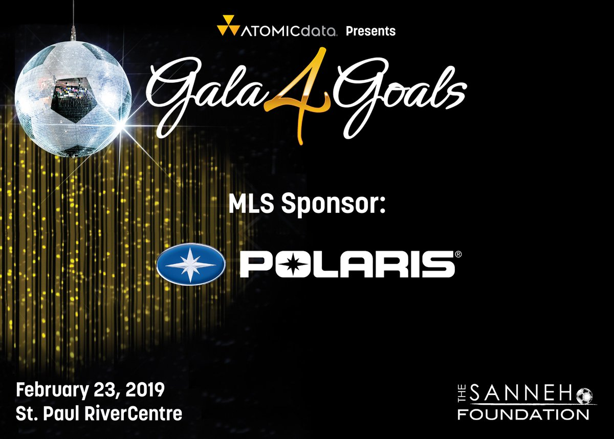 test Twitter Media - Thank you @PolarisInd for their MLS Sponsorship Level at Gala4Goals 2019! #Gala4Goals https://t.co/hhAbFBaYFY