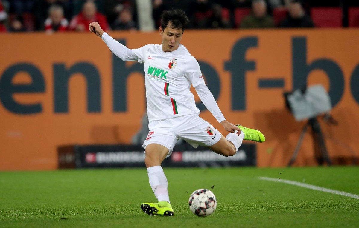 🔥🔥 Dong-Won #Ji  🔥🔥  ⚽️🇰🇷  #FCAFCB 2:1 @FCAugsburg