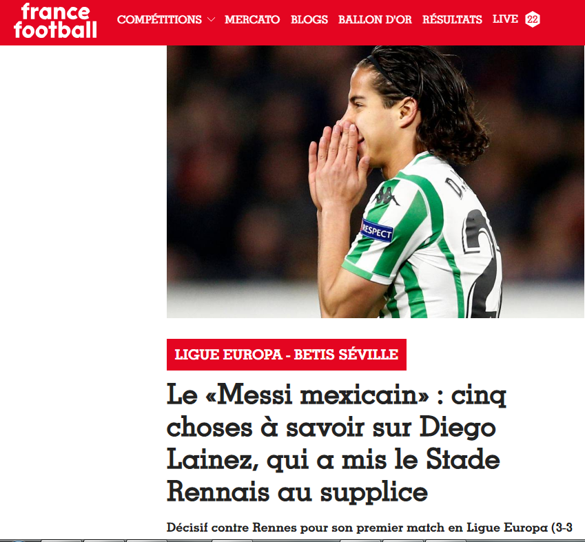 TVC Deportes's photo on France Football