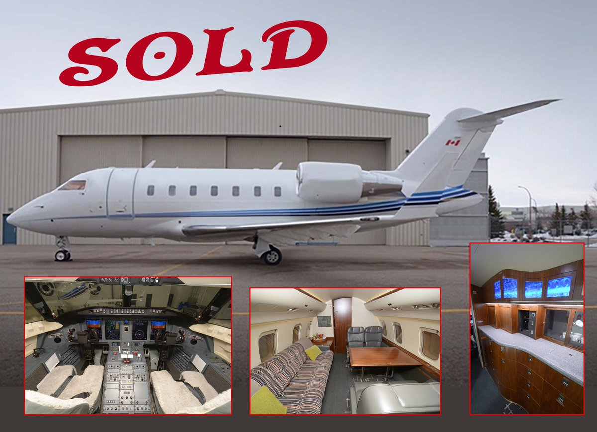 Congratulations @Bombardier on another Challenger 605 Sold!  #bombardierchallenger  #bombardier #privatejet #firstclass #pmlistings