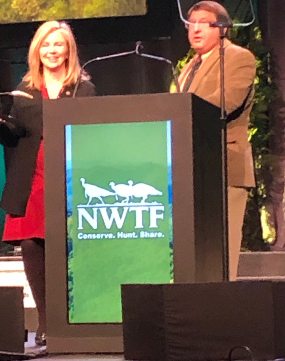 Pleased to join the@NWTF_official to address their convention.