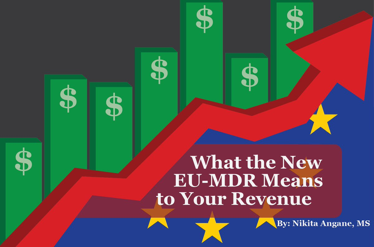 Wondering how the new EU MDR is going to affect costs? Read our latest weekly #Friday blog now to figure out just what is going to change #EU #MDR #Blog #Cost #Revenue #New #EMMAIntl   Read the blog here at: https://emmainternational.com/eu_mdr_means_your_revenue/…