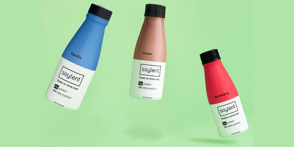 Soylent is soybeans, not (yet) human beans