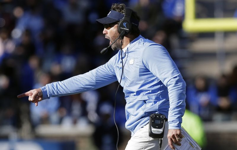 Former North Carolina coach Larry Fedora was in Austin this past week interviewing for an analyst job at Texas, according to my sources. Fedora was in town on Wednesday, and even attended a staff meeting. Nothing official yet.