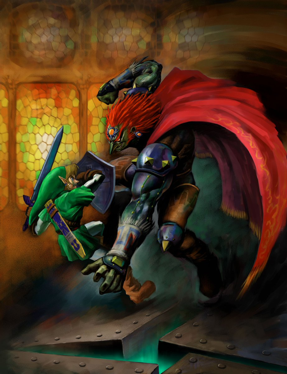 Who's the better sword-wielding teenager with center-parted hair fighting evil in a desolate future who is sent back in time to warn the past about the dangers to come, creating convoluted timeline shenanigans in the process?  RT for OoT Link, like for Future Trunks