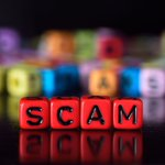 Image for the Tweet beginning: #Scammers love taking advantage of