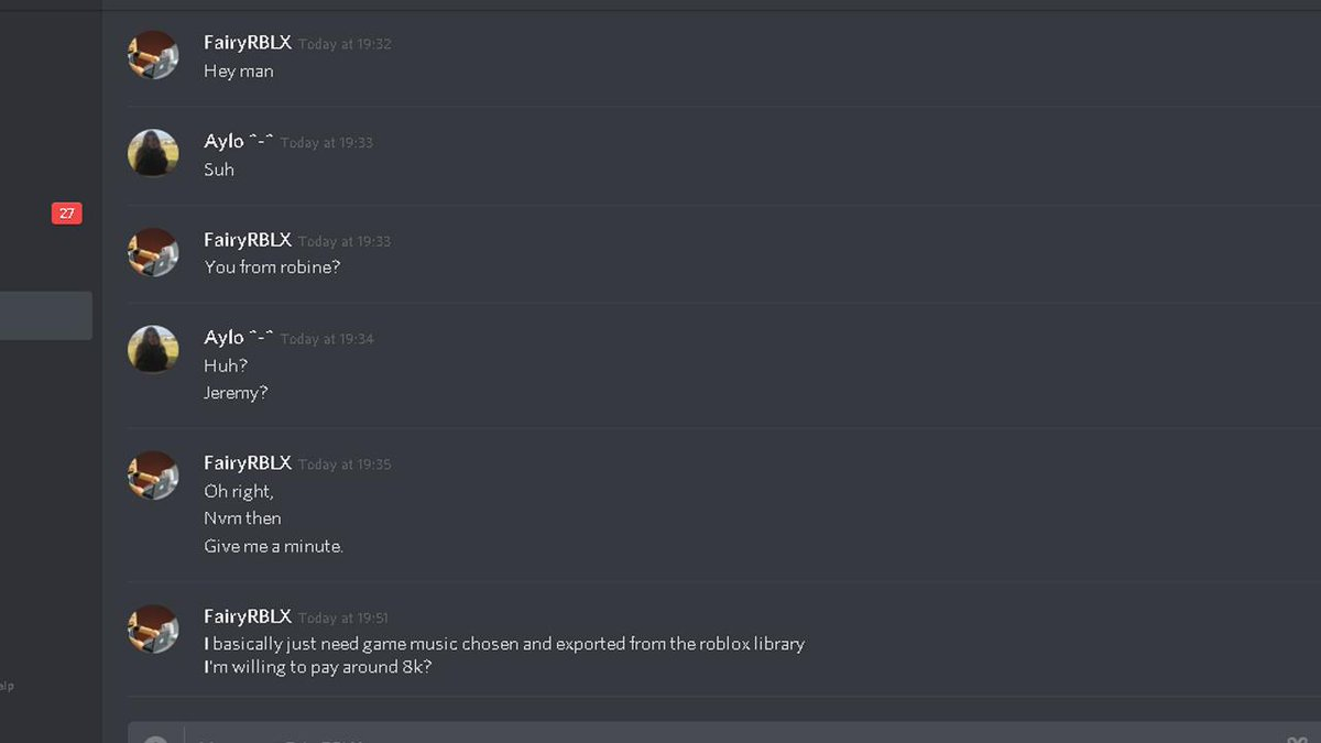 Aylo On Twitter So I Just Got Scammed The Person Who - robux scams messages