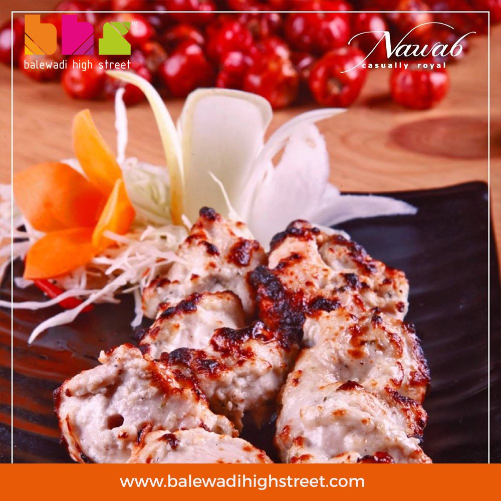 Never keep a kebab waiting. Especially when its from @NawabAsia. Have you tried our Malai Kebabs yet?#nawabasia #saturday #weekend #punefoodies #punerestraunts #balewadi #BHS #pune #spoiltbychoice #lifeatbhs #worldcuisine #placetobe #drinkstagram #foodporn #foodies #weekend