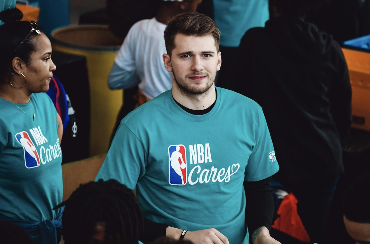 .@luka7doncic is representing the @dallasmavs well during All-Star Weekend!