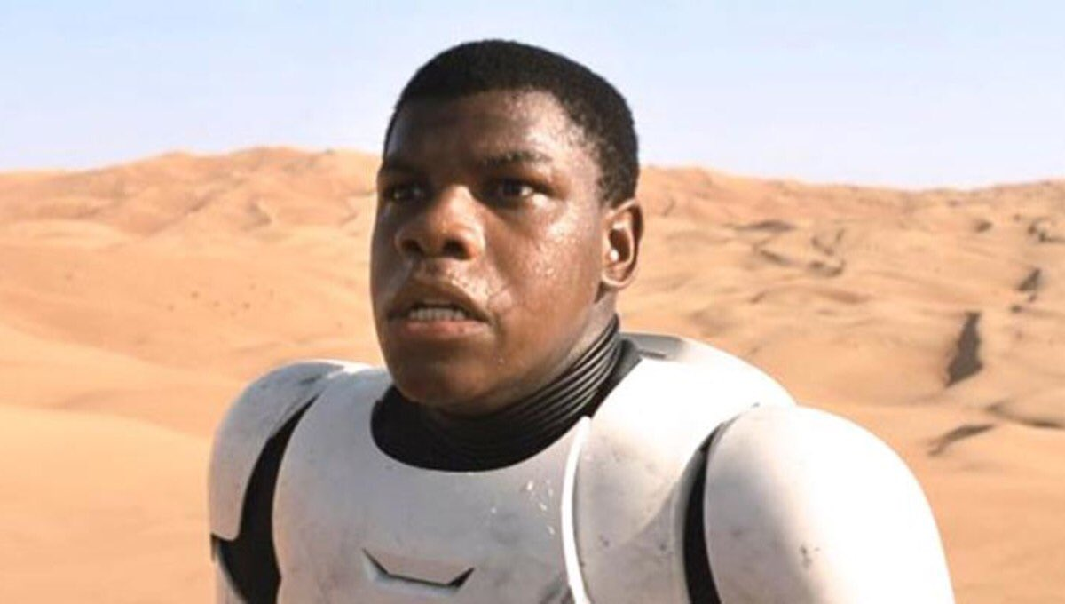look at my man's beautiful ass lineup. it only took 3 movies, but we finally got finn a good space barber.