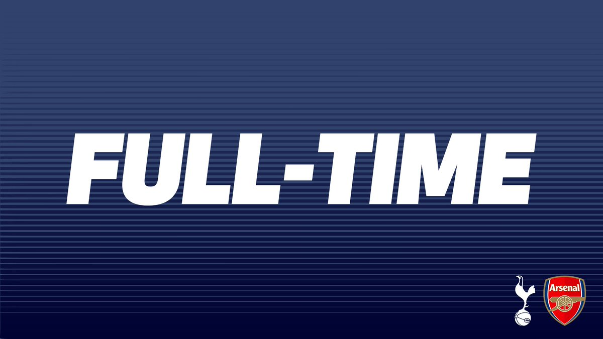 FULL-TIME - A night to forget for our young U23 side in the #PL2.  ⚪️ #THFC 0-4 #AFC 🔴
