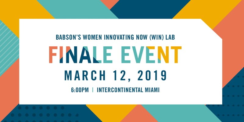 Join us for a night of celebration of the third year of the Miami WIN Lab! It's our Finale Event. March 12. Intercontinental Miami. RSVP via the link below. 🎉 http://ow.ly/ATjM50lvL18