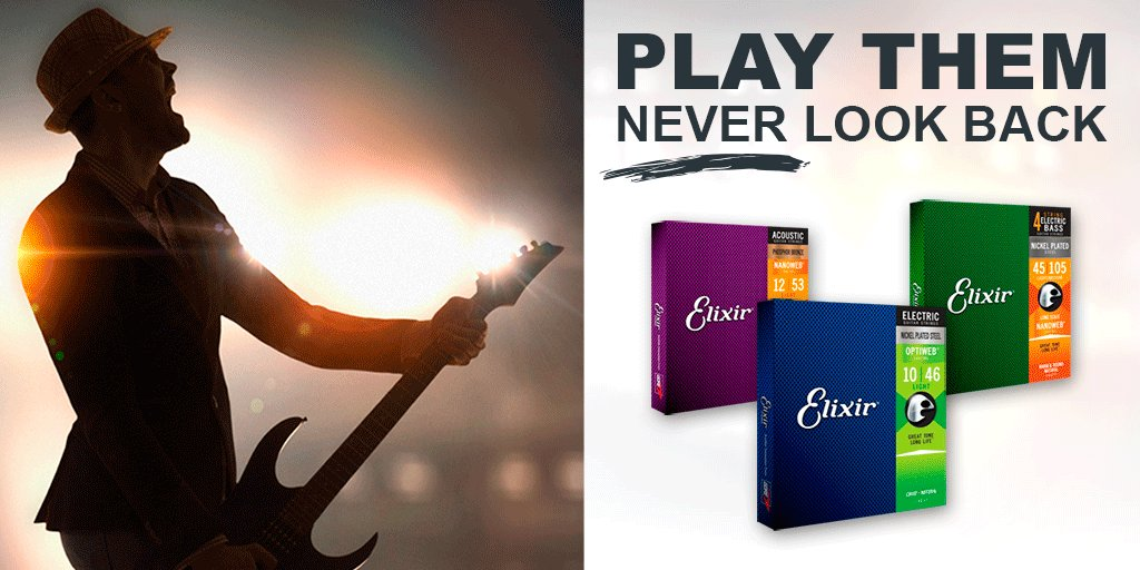 Have you played one yet?  #elixir #elixirstrings #guitarstrings #strings #geartalk #guitar #guitarplayer #electricguitar #acousticguitar #bassguitar